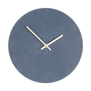 Szary drewniany zegar ścienny House Nordic Paris, ⌀30cm