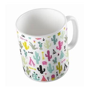 Ceramiczny kubek Cacti And Teepee, 330 ml