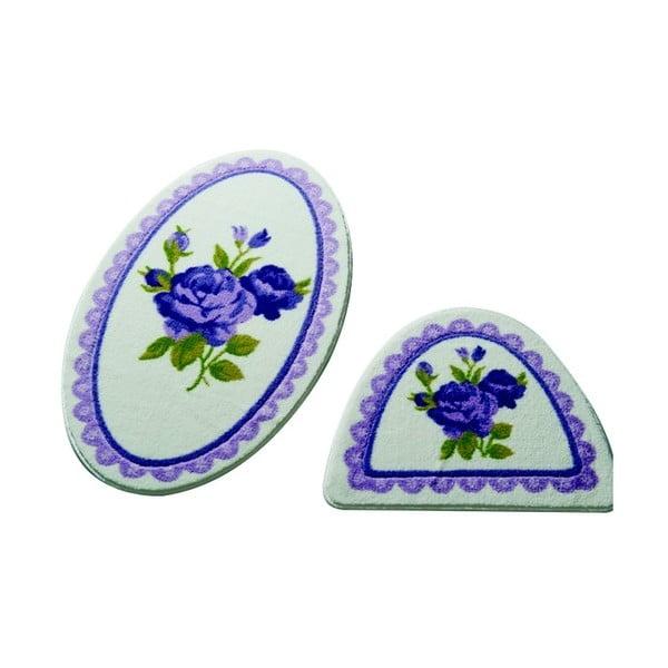 Zestaw 2 dywaników łazienkowych Confetti Bathmats Rosa