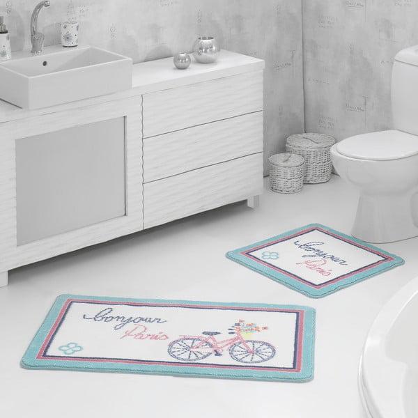 Zestaw 2 dywaników łazienkowych Bonjour