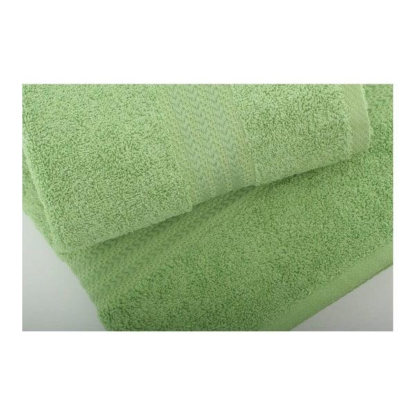 Zestaw 3 zielonych ręczników Rainbow