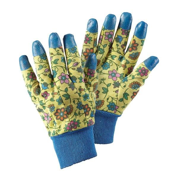 Rękawice ogrodnicze z gumowymi palcami Tapestry