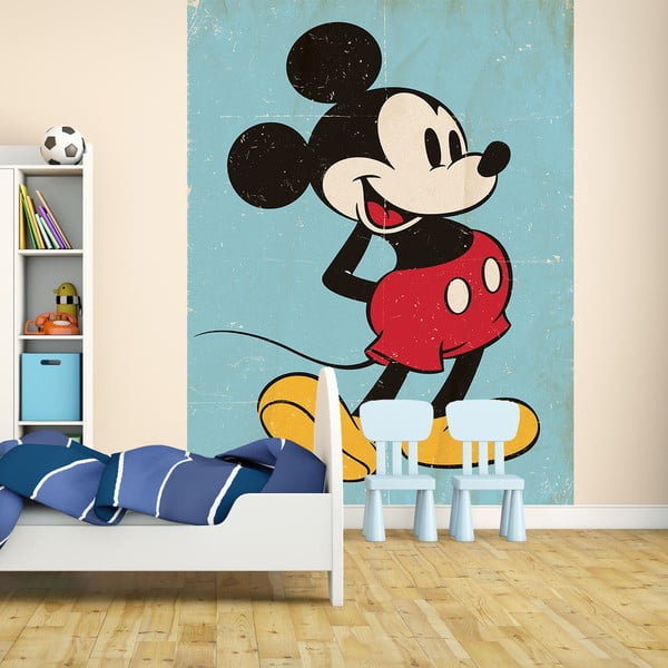 Tapeta   wielkoformatowa Mickey, 158x232 cm