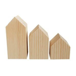 Dekoracja Casitas de madera