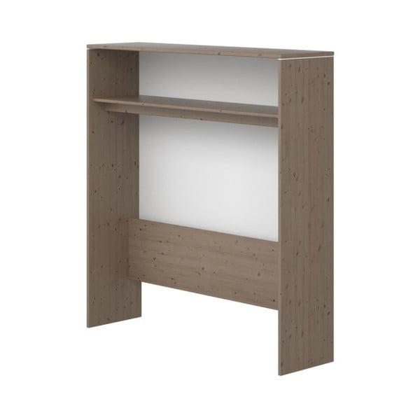 Brązowa szafka dziecięca z drewna sosnowego Flexa Classic, wys. 135,5 cm
