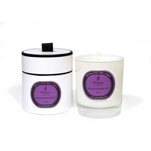 Świeczka Aromatherapy, 50 godzin palenia, zapach figi