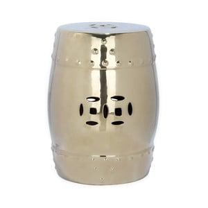 Złoty stolik ceramiczny Safavieh Modern Ming