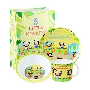 3-częściowy zestaw naczyń dla dzieci Churchill China Little Rhymes, 3szt.