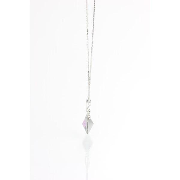 Niebieski naszyjnik z kryształami Swarovskiego Yasmine Longie