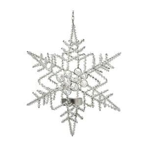 Dekoracja wisząca ze świecznikiem Parlane Snow