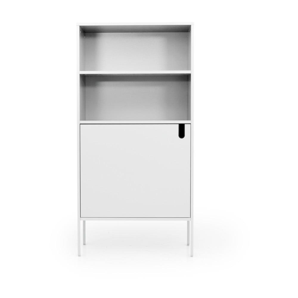 Biała szafka Tenzo Uno, szer. 76 cm