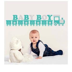 Naklejka ścienna Baby Boy, 70x50 cm