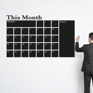 Naklejka ścienna This month