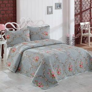 Zestaw narzuty i poszewki na poduszkę Irina, 180x240 cm