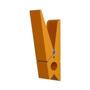 Pomarańczowa klamerka SwabDesign