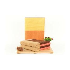 Zestaw 3 ręczników Felix Sun, 50x100cm