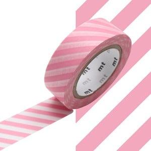 Taśma dekoracyjna washi Stripe Sakura