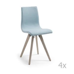 Zestaw 4 krzeseł La Forma Una