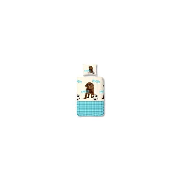 Pościel Puppy Blue, 140x200 cm