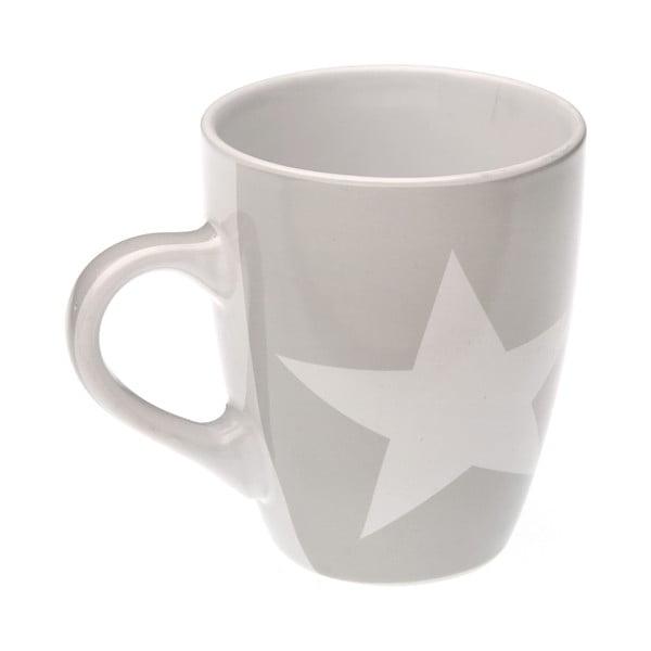 Kubek Grey&White Stars