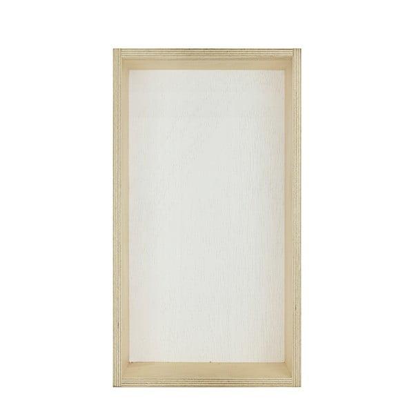 Zestaw 3 półek HF Living Oblong – żółta, szara, biała