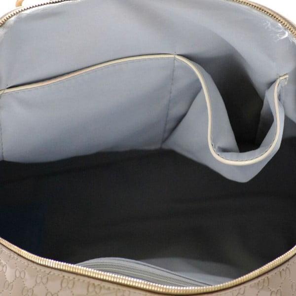 Skórzana torebka Silva Taupe