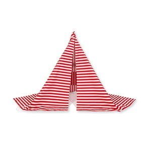 Namiot chroniący przed wiatrem Wind Banner Red Stripes