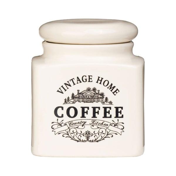 Kremowy pojemnik na kawę Premier Housewares Vintage Home