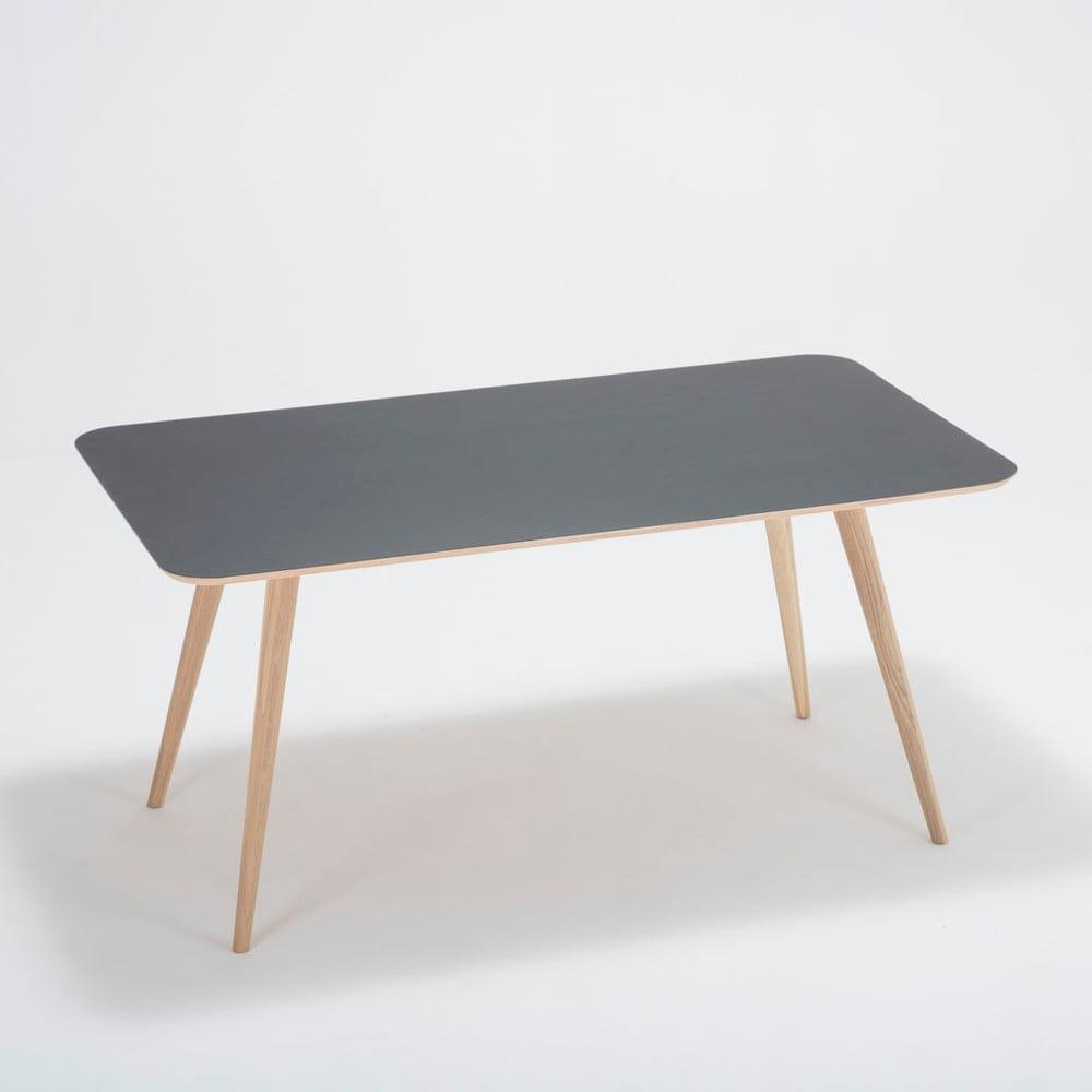 Stół z drewna dębowego Gazzda Linn, 160 x 90 cm
