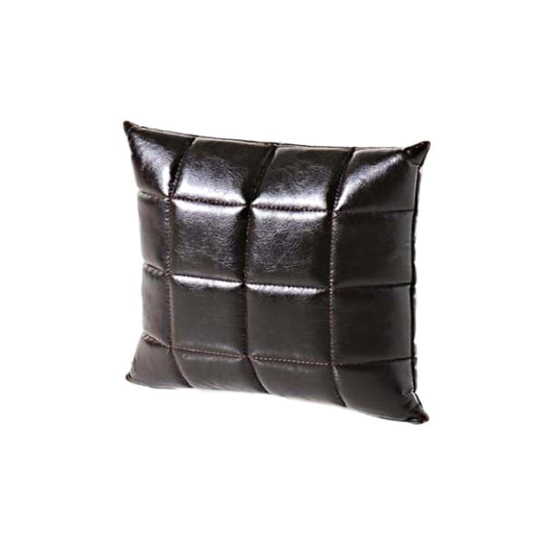 Poduszka ze skóry wegańskiej Power 14, 45x45 cm