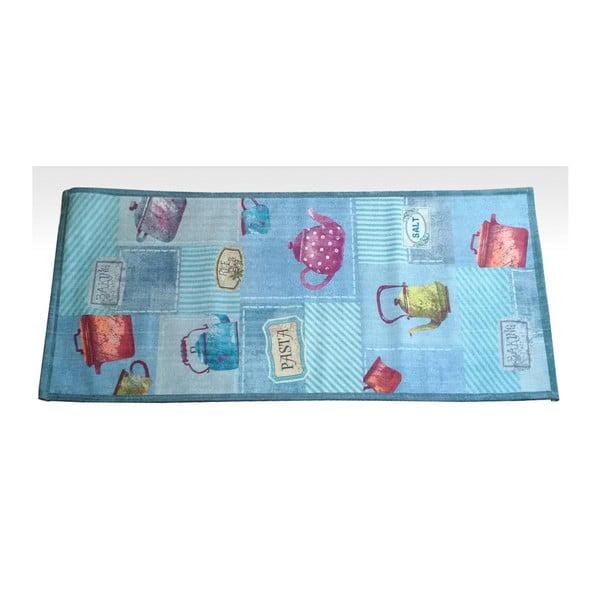Wytrzymały dywan kuchenny Webtapetti Pots, 60x240 cm