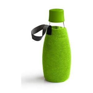 Zielony pokrowiec na szklaną butelkę ReTap z dożywotnią gwarancją, 500 ml