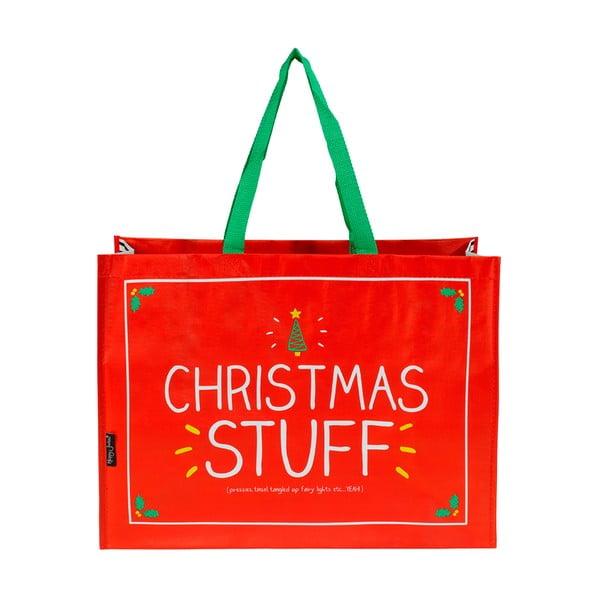 Torba na prezenty świąteczne Happy Jackson Christmas Stuff, 35x50 cm