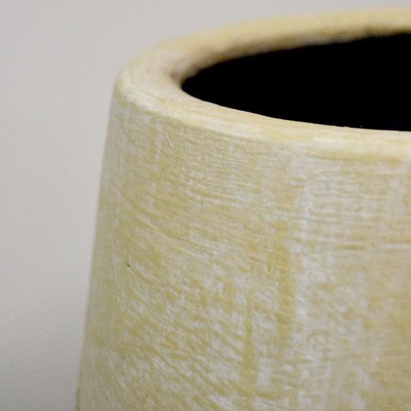Rattanowy wazon Rattan, 80 cm