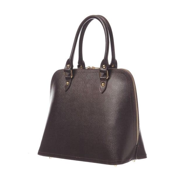 Skórzana torebka Fan Bag Brown