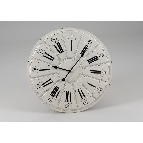Zegar White Clock, 68 cm