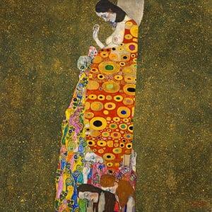 Reprodukcja obrazu Gustava Klimta - Hope, 80x80 cm