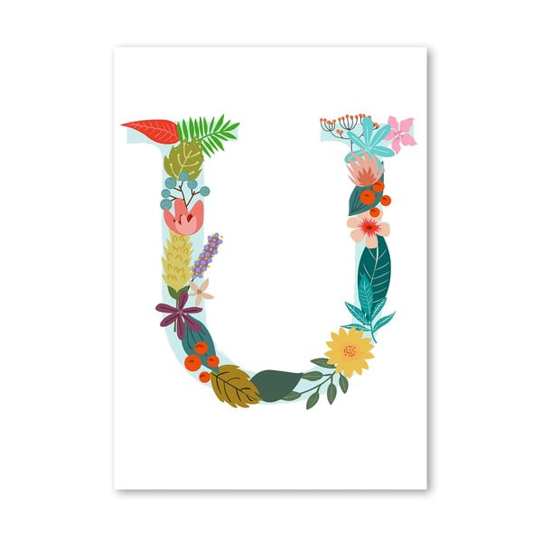Plakat (projekt: Mia Charro) - U