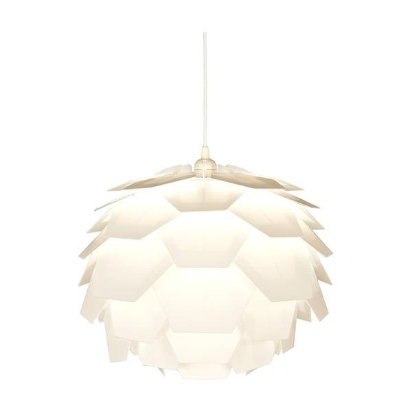 Biała lampa wisząca ScanLamps Carpatica, ⌀41cm