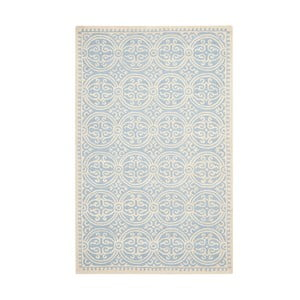 Dywan wełniany Marina Blue, 152x243 cm