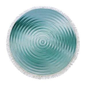 Okrągły ręcznik Water Ring, ⌀105cm