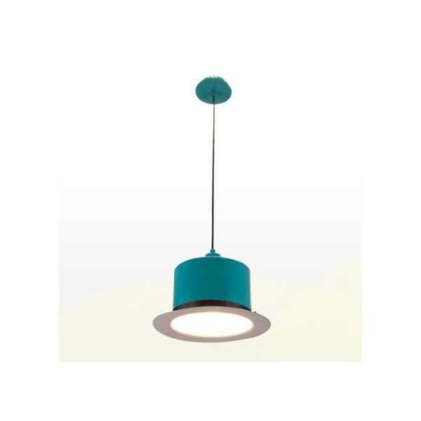 Lampa sufitowa Hat Turquoise/White