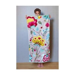 Ręcznik Floral Fantasy khaki, 55x100 cm