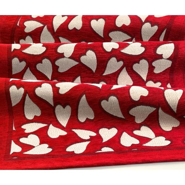 Wytrzymały dywan kuchenny Webtapetti Corazon Rosso, 55x115 cm