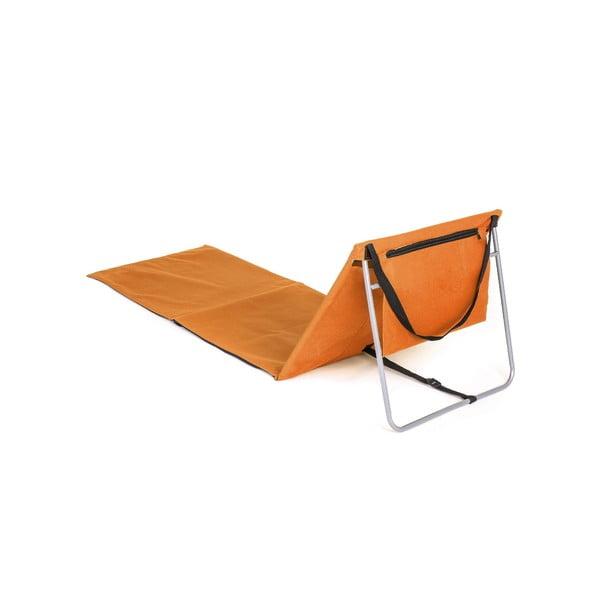 Składana mata plażowa Austin, pomarańczowa