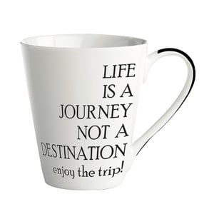 Porcelanowy kubek Galzone Life is a journey