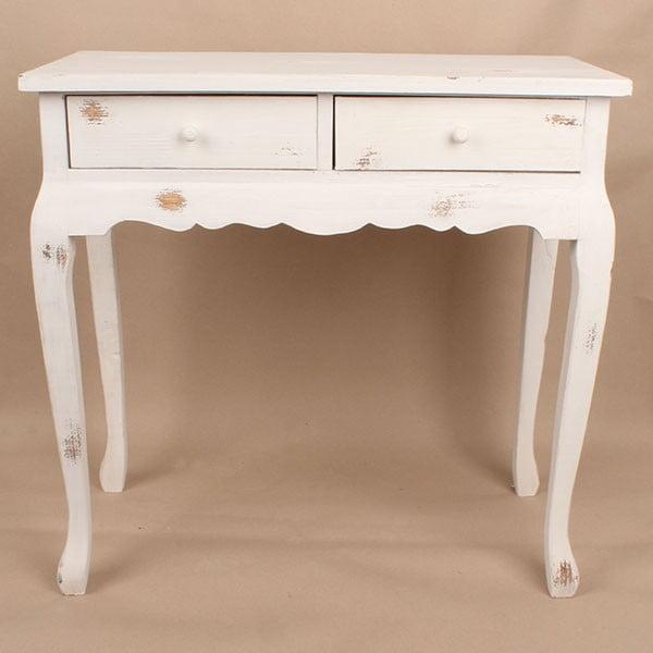 Stół drewniany White Days, 72x71 cm