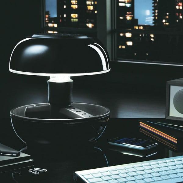 Lampa stołowa i ładowarka w jednym Joyo Classic, czarna