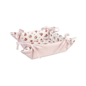 Koszyk na pieczywo Clayre, różowy