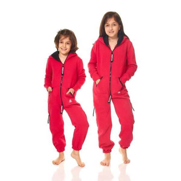 Ciemnoróżowy dziecięcy kombinezon domowy Streetfly, 12-13 lat
